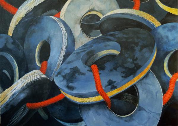 Acrylic on canvas | 46